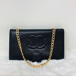 Authentic Chanel Coco Wallet